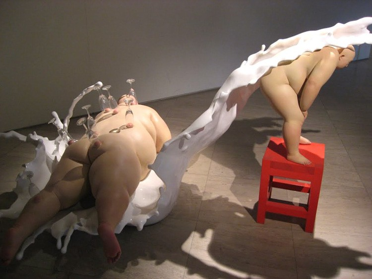 realism art Realism Art Sculptures By Mu Boyan mu boyan i lobo you 2