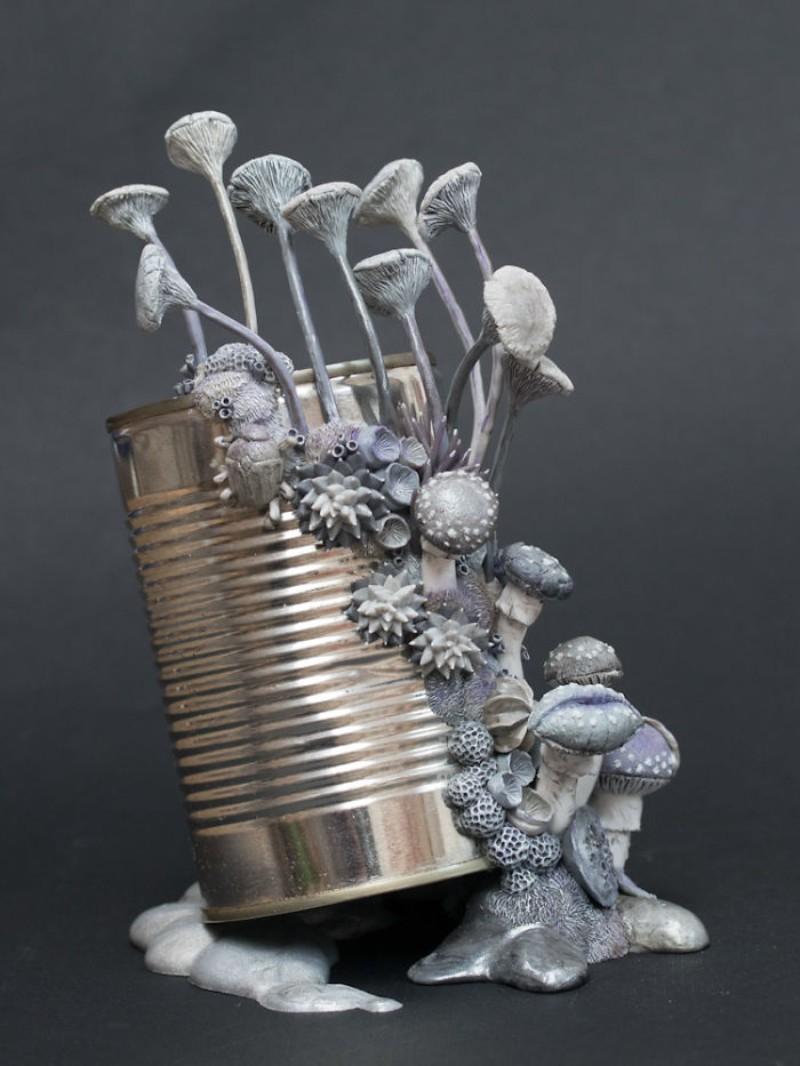 sculptures Coral Sculptures In Discharged Objects By Stephanie Kilgast Coral Sculptures In Discharged Objects By Stephanie Kilgast 11