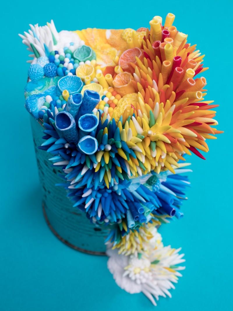 sculptures Coral Sculptures In Discharged Objects By Stephanie Kilgast Coral Sculptures In Discharged Objects By Stephanie Kilgast 5