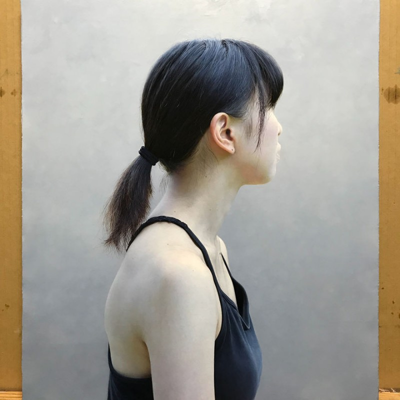 Oil Painting Realistic Oil Paintings That Look Like Real People By Kei Mieno Realistic Oil Paintings That Look Like Real People By Kei Mieno 7