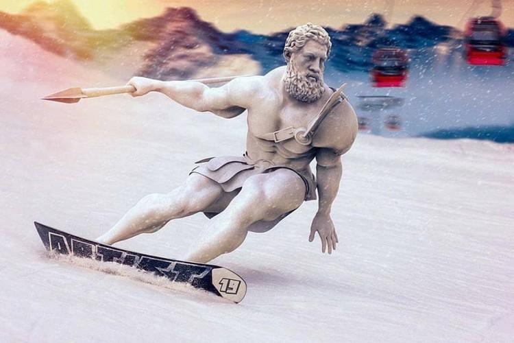 Digital Art Digital Art: Emre Yusufi creates Modern Times Hercules hercules i lobo you 3