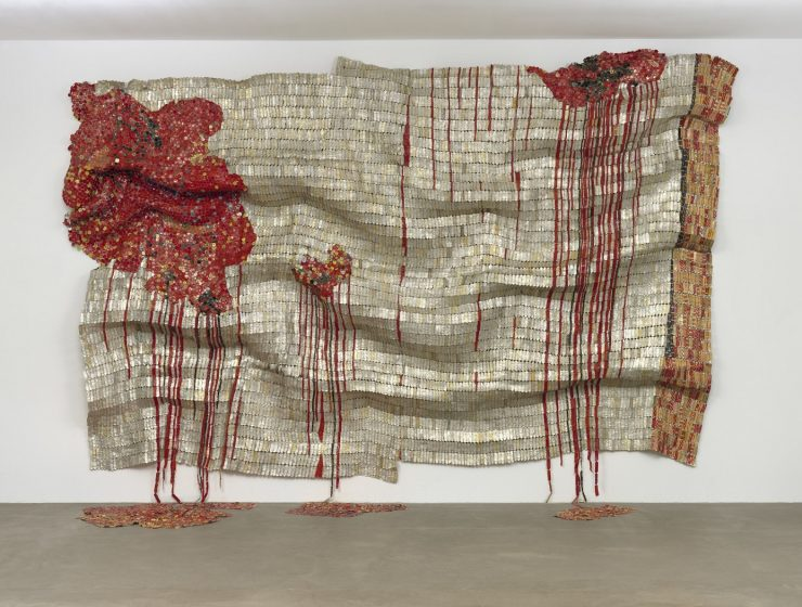 El Anatsui is an internationally acclaimed artist from Ghana who transforms simple materials into complex contemporary art.