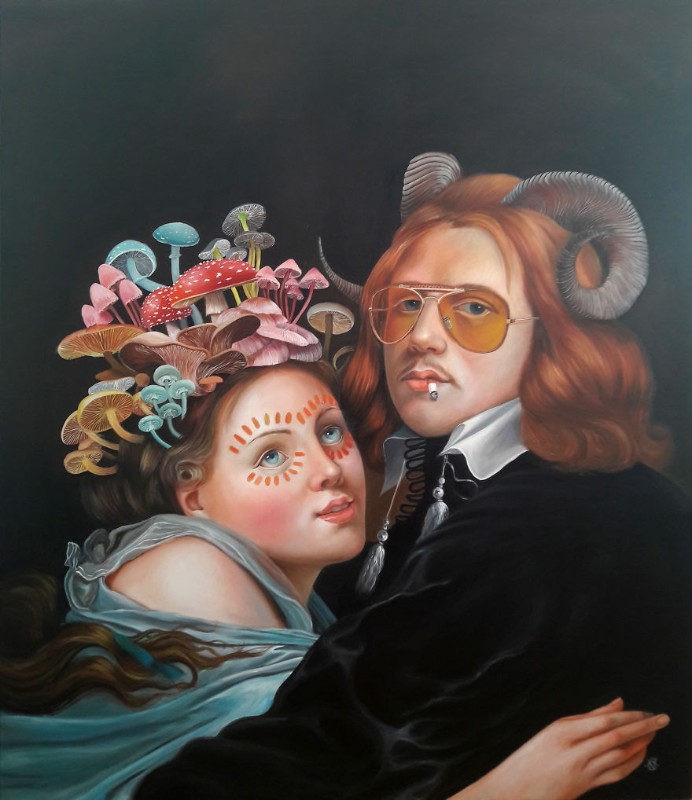 Oil Paintings The New Baroque Oil Paintings By Naomi Devil 4