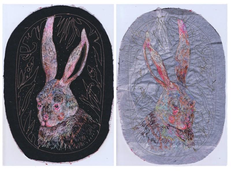 Art Portraits Embroidery Art Portraits By Lisa Smirnova Embroidery Art Portraits By Lisa Smirnova 10