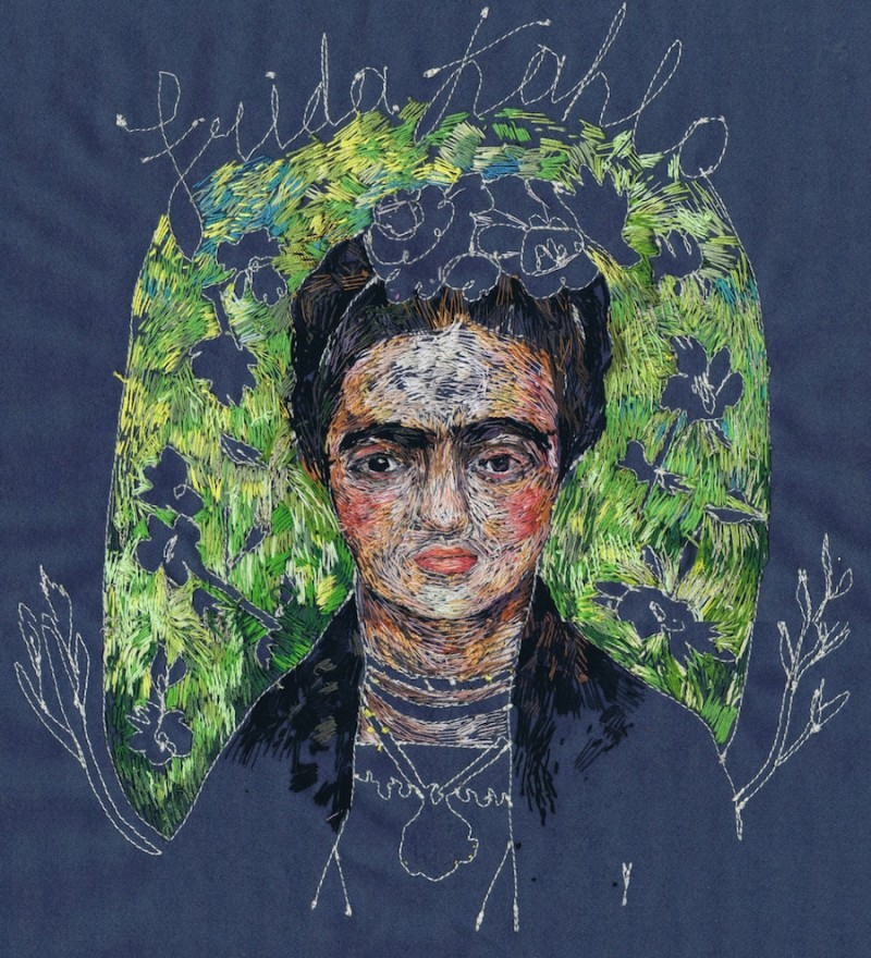 Art Portraits Embroidery Art Portraits By Lisa Smirnova Embroidery Art Portraits By Lisa Smirnova 5