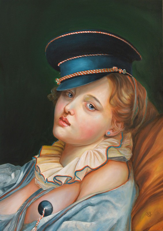 Oil Paintings The New Baroque Oil Paintings By Naomi Devil Kitty small 5b0fe767bb98f  880