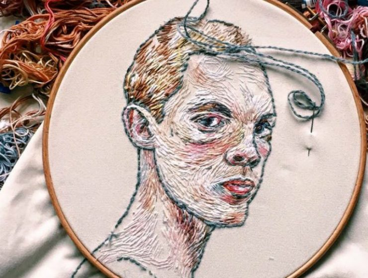 Art Portraits Embroidery Art Portraits By Lisa Smirnova fffffffffffffffffff 740x560