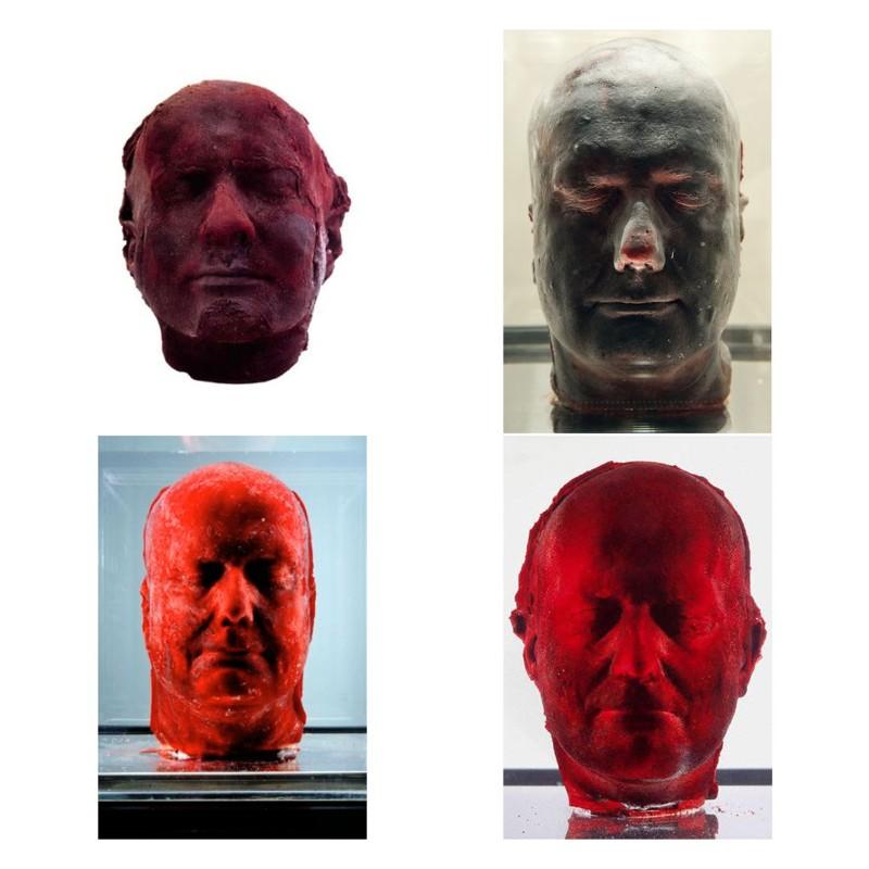 marc quinn Modern Art: A Bloody Self-portrait By Marc Quinn marc quinn self i ii iii iv