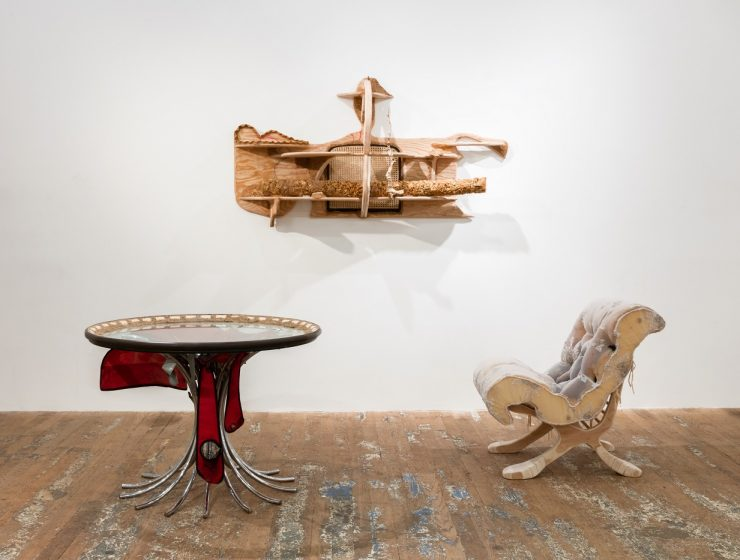 Jessi Reaves releases truly unconventional furniture design that you can't find anywhere else. Reaves works with furniture as sculpture.