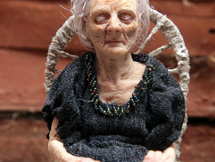 hyper realistic sculptures Hyper Realistic Sculptures By Polina Verbystska fffffffffffffffffffff 740x560