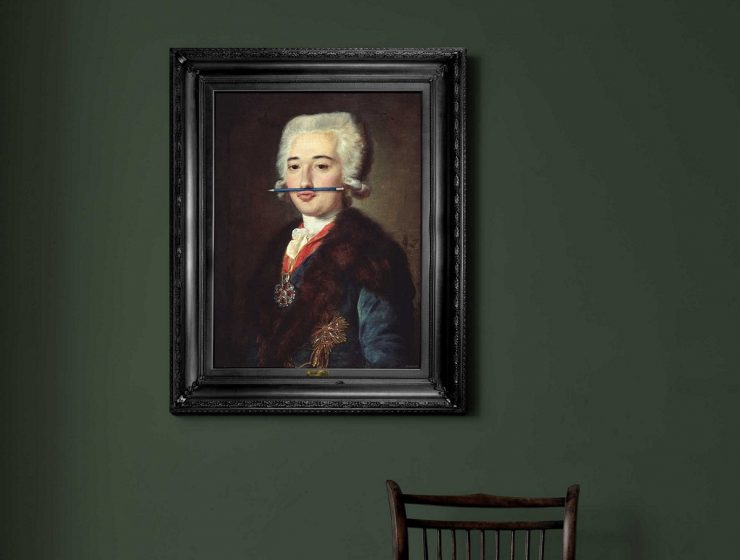 Mineheart was launched in 2010 by two designers. They have a collection of wall decoration mixing classical portraits with contemporary features.
