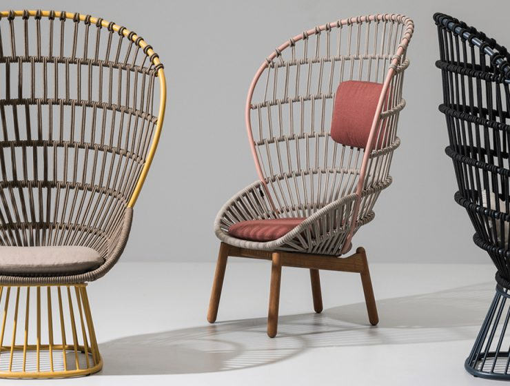 Infusing the industrial with the sensibility of the handmade has been the central philosophy of Doshi Levien when creating their seating designs.