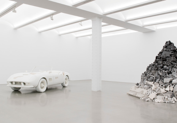 Daniel Arsham will be exhibiting at Perrotin New York until 21 October, an exhibitionnamed 3018.