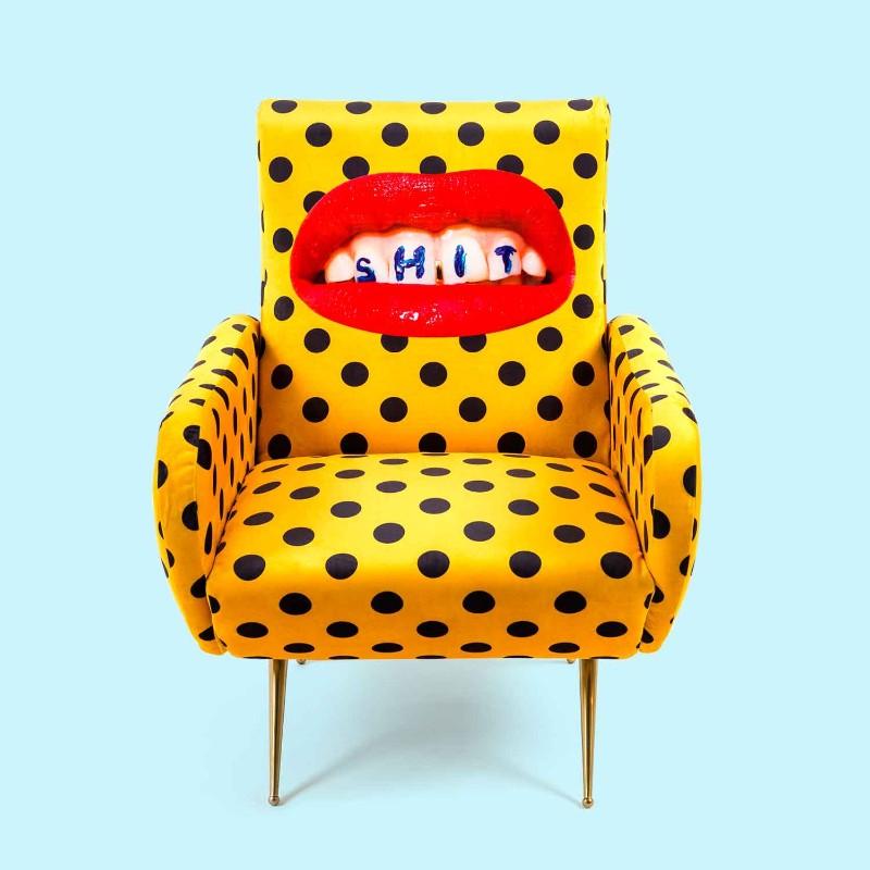 fun furniture Fun Furniture Pieces by Maurizio Cattelan's TOILETPAPER Magazine Armchair shit
