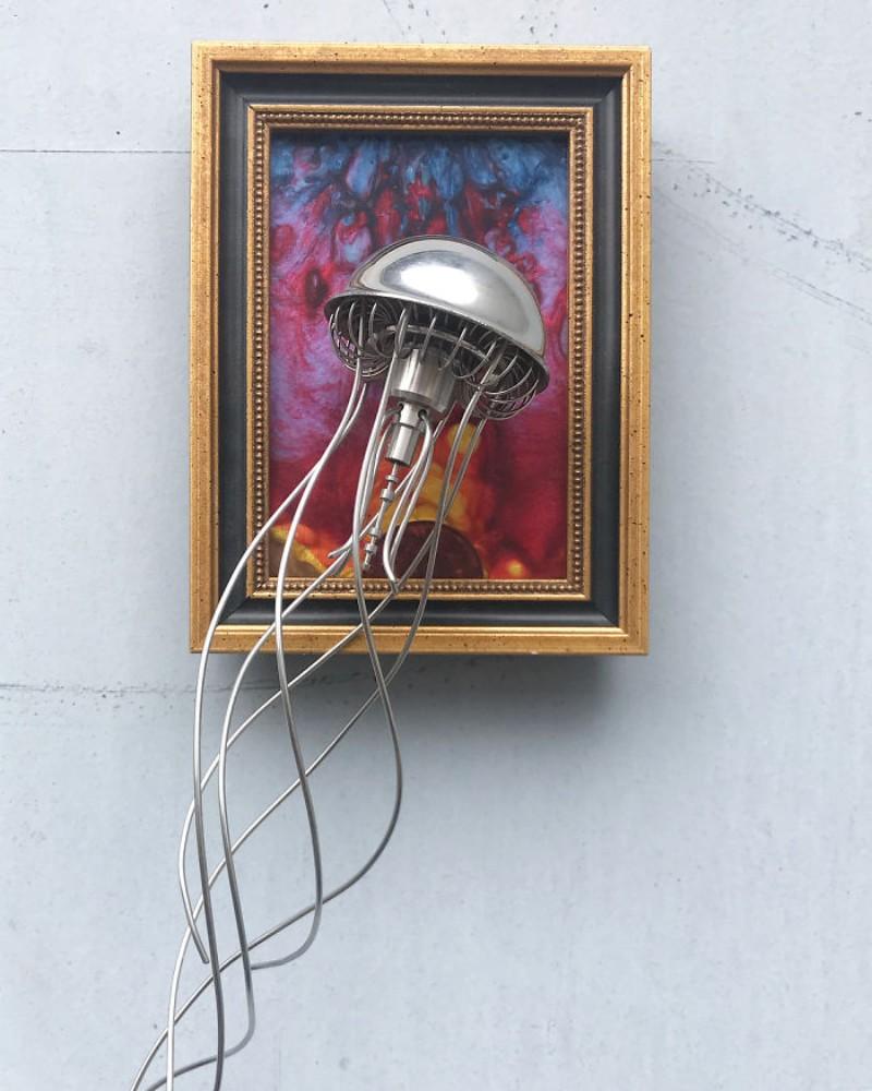 metal sculptures Old Cutlery Gets Transformed into Amazing Metal Sculptures Matt Wilson sculptures 4