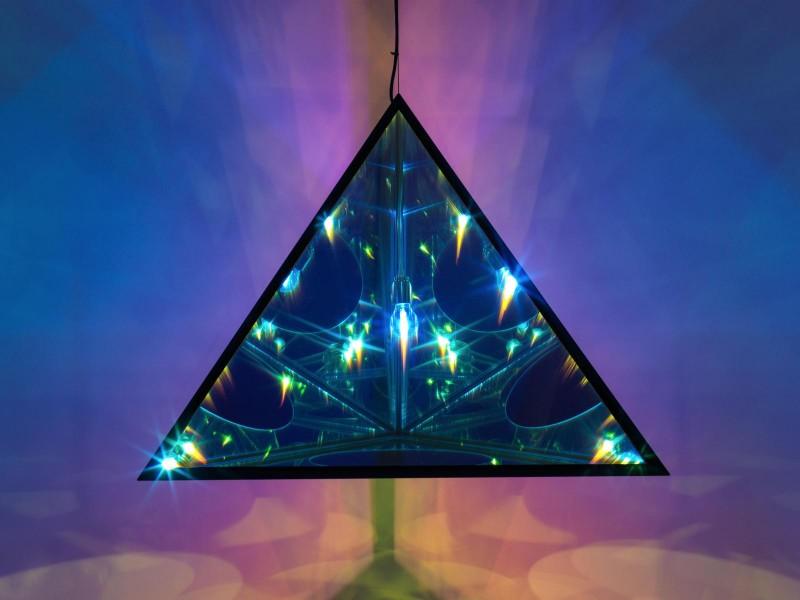 olafur eliasson Olafur Eliasson's Stunning Glass Art Pieces the tetrahedral night