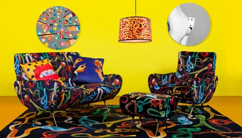 fun furniture Fun Furniture Pieces by Maurizio Cattelan's TOILETPAPER Magazine toiletpaper