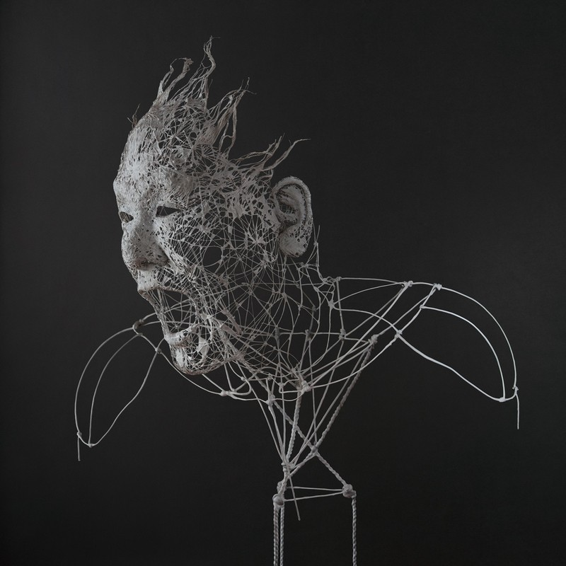 Incredibly Realistic Human-Like Sculptures Wire Sculptures Incredibly Realistic Human-Like Wire Sculptures Incredibly Realistic Human Like Sculptures7