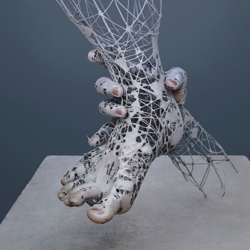 Incredibly Realistic Human-Like Sculptures Wire Sculptures Incredibly Realistic Human-Like Wire Sculptures Incredibly Realistic Human Like Sculptures8
