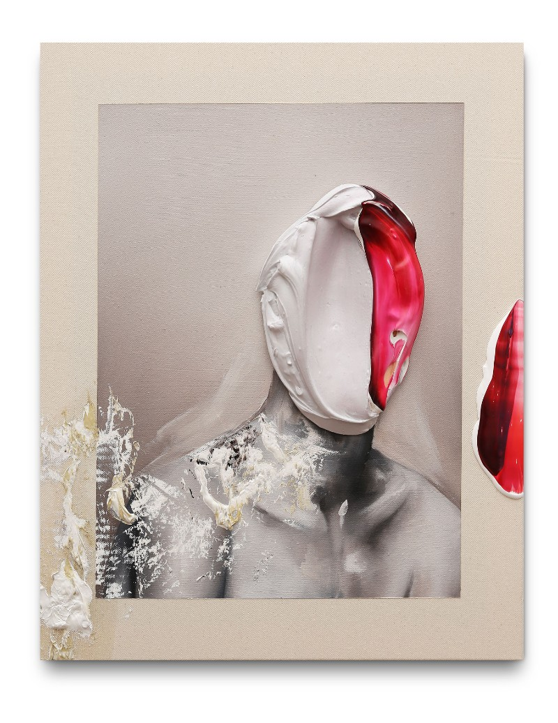 Is It You? A Faceless Collection of Modern Art Paintings
