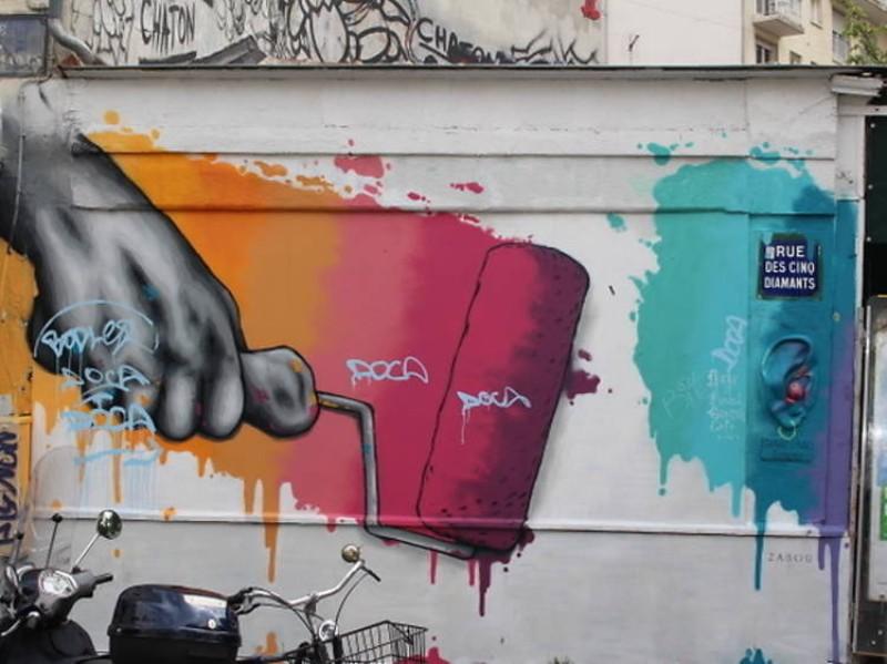 Most Amazing Parisian Graffiti