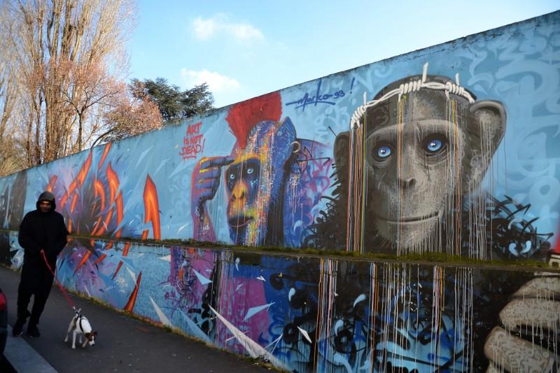 Most Amazing Parisian Graffiti Art
