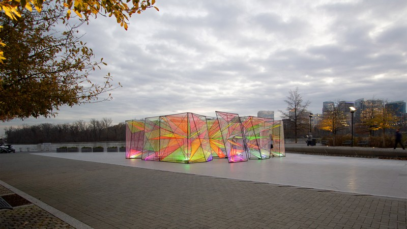 Prismatic Art Installation Stuns Washington DC's Locals Modern Art Prismatic Modern Art Installation Stuns Washington DC's Locals Prismatic Modern Art Installation Stuns Washington DC   s Locals4