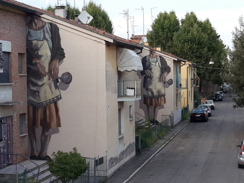 World's Giant Murals Get Dressed Up by Street Artist Hyuro wall murals World's Giant Wall Murals Get Dressed Up by Street Artist Hyuro World   s Giant Murals Get Dressed Up by Street Artist Hyuro 11