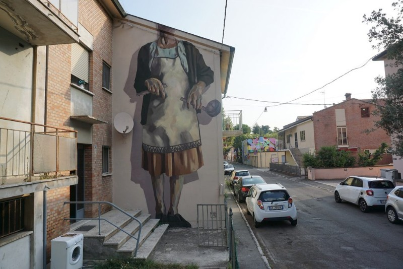 World's Giant Murals Get Dressed Up by Street Artist Hyuro wall murals World's Giant Wall Murals Get Dressed Up by Street Artist Hyuro World   s Giant Murals Get Dressed Up by Street Artist Hyuro 12