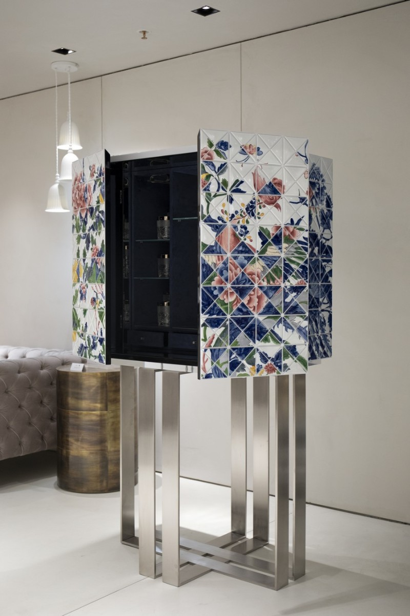 Pixel Bar Cabinet - A Lyrical Partnership german design award German Design Award 2020 Winner – Once Upon A Time Cabinet Pixel Cabinet A Lyrical Partnership 5