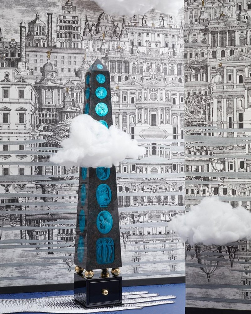 Fornasetti's New Whimsical Wallpaper for Cole & Son Fornasetti Fornasetti's New Whimsical Wallpaper for Cole & Son Whimsical Wallpaper for Cole Son 2