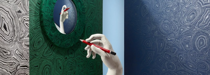 Fornasetti's New Whimsical Wallpaper for Cole & Son Fornasetti Fornasetti's New Whimsical Wallpaper for Cole & Son Whimsical Wallpaper for Cole Son