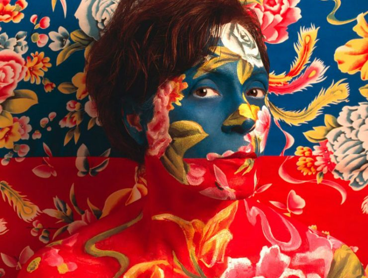 Self Portraits Camouflaged Self Portraits with A Floral Print feature 2 740x560