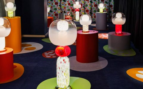 luca nichetto Luca Nichetto Pays Homage to Josef Frank Through Multicolored Lamps Homage to Josef Frank Through Multicolored Lamps feature 480x300