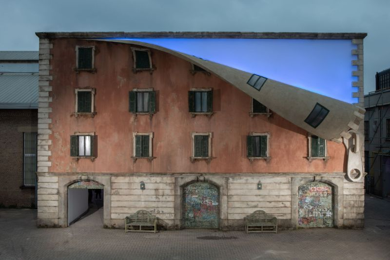 Alex Chinneck Unzipped A Building During Milan Design Week 2019 alex chinneck Alex Chinneck Unzipped A Building During Milan Design Week 2019 Chinneck Unzipped A Building During Milan Design Week 2019 6
