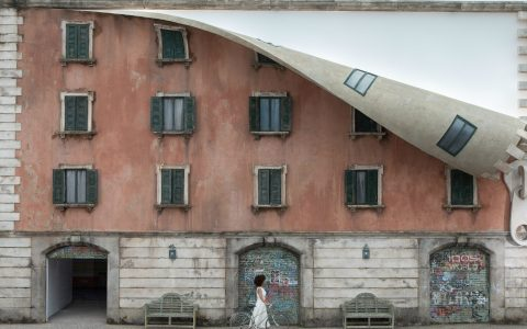 alex chinneck Alex Chinneck Unzipped A Building During Milan Design Week 2019 Chinneck Unzipped A Building During Milan Design Week 2019 feature 480x300