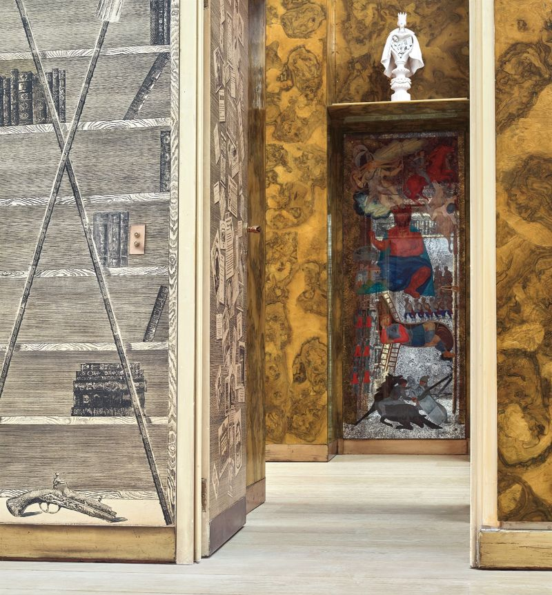 Fantasy House: A Wonderfully Theatrical Scenario by Fornasetti fornasetti Fantasy House: A Wonderfully Theatrical Scenario by Fornasetti Fantasy House A Wonderfully Theatrical Scenario 9