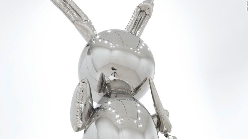 Jeff Koons' 'Rabbit' - The Most Expensive Work Ever by A Living Artist jeff koons Jeff Koons' 'Rabbit' – The Most Expensive Work Ever by A Living Artist JeffKoons Rabbit The Most Expensive Work Ever by A Living Artist 5