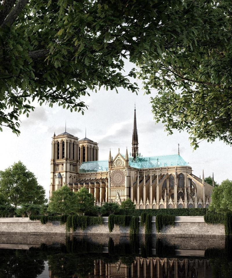 Reconstructing Notre Dame: Alternative Designs That'll Blow Your Mind notre dame Reconstructing Notre Dame: Alternative Designs That'll Blow Your Mind Reconstructing NotreDame Alternative Designs That   ll Blow Your Mind 10
