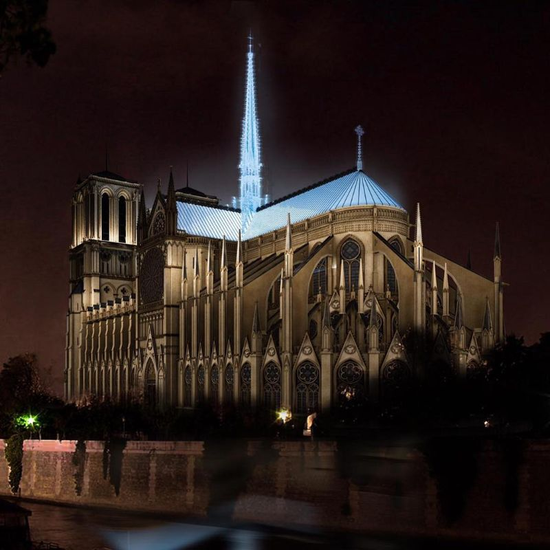 Reconstructing Notre Dame: Alternative Designs That'll Blow Your Mind notre dame Reconstructing Notre Dame: Alternative Designs That'll Blow Your Mind Reconstructing NotreDame Alternative Designs That   ll Blow Your Mind 2