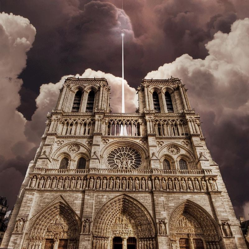 Reconstructing Notre Dame: Alternative Designs That'll Blow Your Mind notre dame Reconstructing Notre Dame: Alternative Designs That'll Blow Your Mind Reconstructing NotreDame Alternative Designs That   ll Blow Your Mind 4