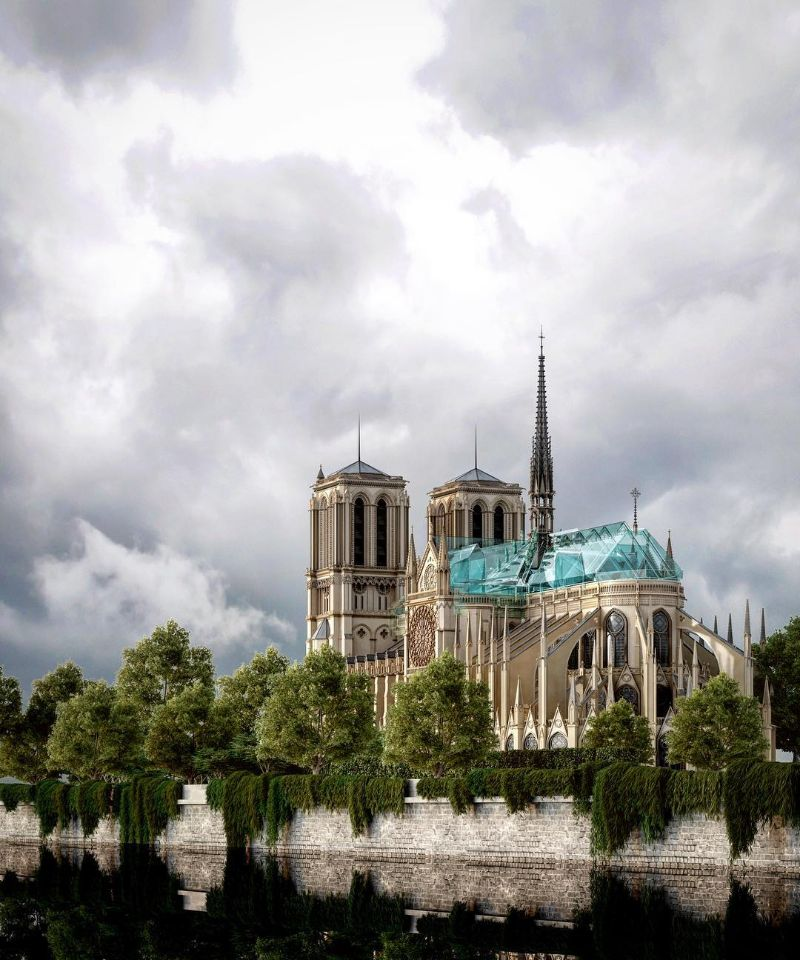Reconstructing Notre Dame: Alternative Designs That'll Blow Your Mind notre dame Reconstructing Notre Dame: Alternative Designs That'll Blow Your Mind Reconstructing NotreDame Alternative Designs That   ll Blow Your Mind 9