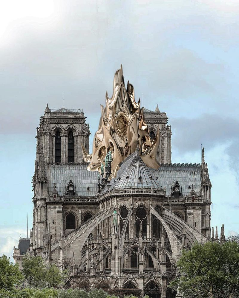 Reconstructing Notre Dame: Alternative Designs That'll Blow Your Mind notre dame Reconstructing Notre Dame: Alternative Designs That'll Blow Your Mind Reconstructing NotreDame Alternative Designs That   ll Blow Your Mind