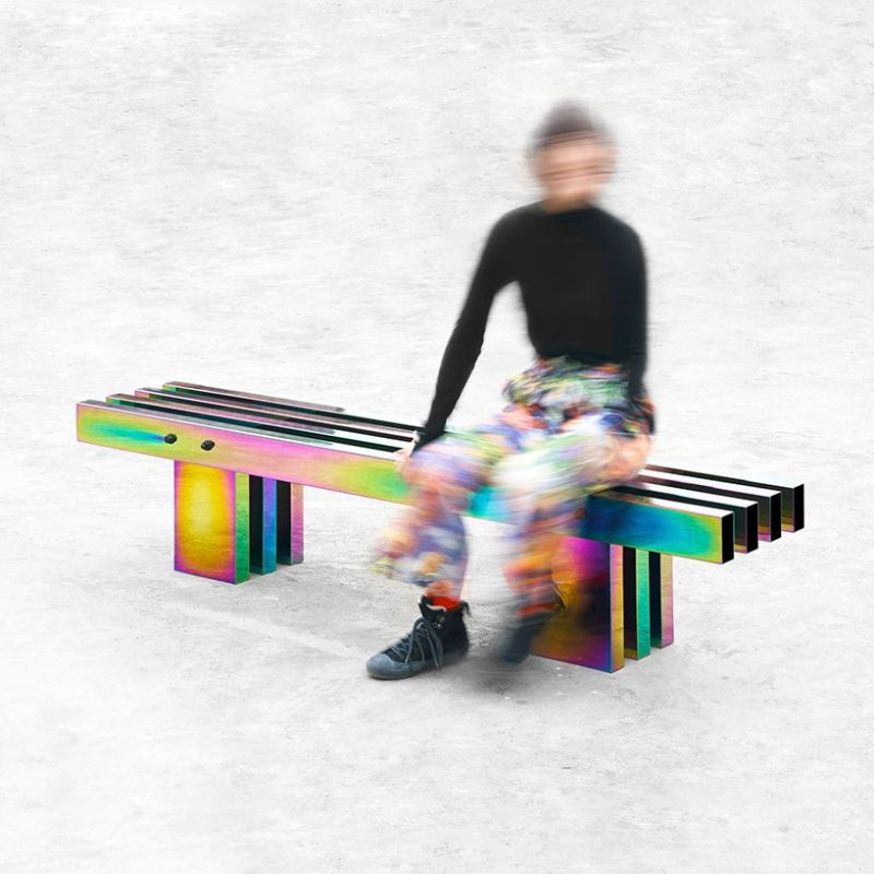 A Fascinating Iridescent-Colored Art Furniture Collection by Buzao buzao A Fascinating Iridescent-Colored Art Furniture Collection by Buzao A Fascinating Iridescent Colored Furniture Collection 2