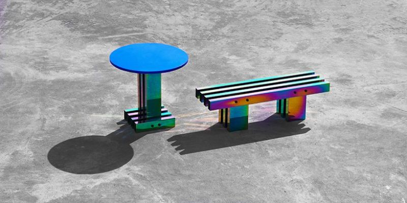 A Fascinating Iridescent-Colored Art Furniture Collection by Buzao buzao A Fascinating Iridescent-Colored Art Furniture Collection by Buzao A Fascinating Iridescent Colored Furniture Collection 5