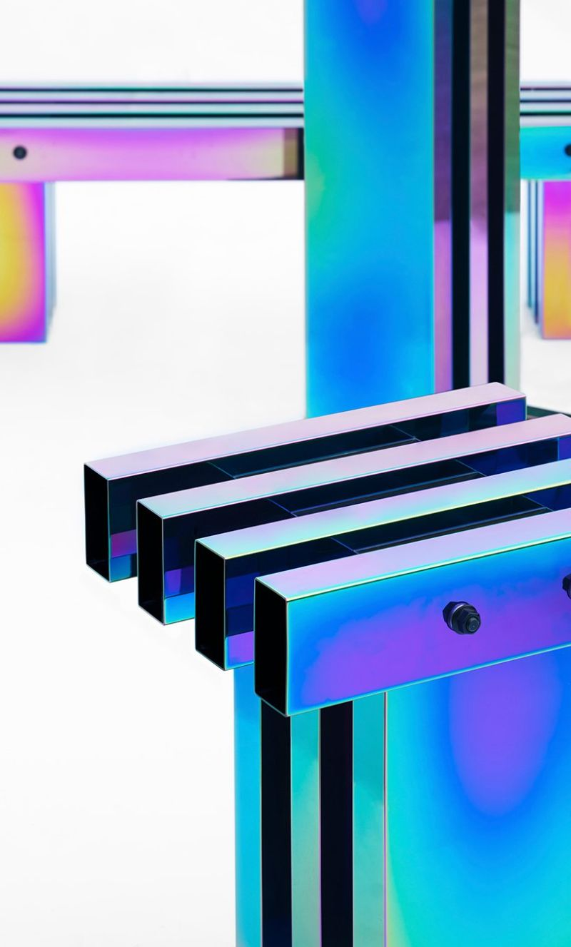 A Fascinating Iridescent-Colored Art Furniture Collection by Buzao buzao A Fascinating Iridescent-Colored Art Furniture Collection by Buzao A Fascinating Iridescent Colored Furniture Collection 9