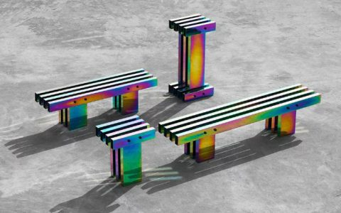 buzao A Fascinating Iridescent-Colored Art Furniture Collection by Buzao A Fascinating Iridescent Colored Furniture Collection feature 1 480x300