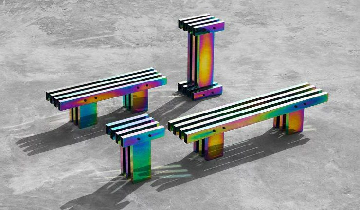 buzao A Fascinating Iridescent-Colored Art Furniture Collection by Buzao A Fascinating Iridescent Colored Furniture Collection feature 1 740x433