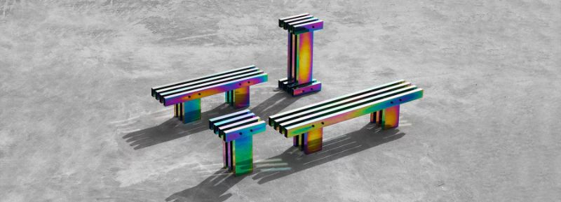 A Fascinating Iridescent-Colored Art Furniture Collection by Buzao buzao A Fascinating Iridescent-Colored Art Furniture Collection by Buzao A Fascinating Iridescent Colored Furniture Collection