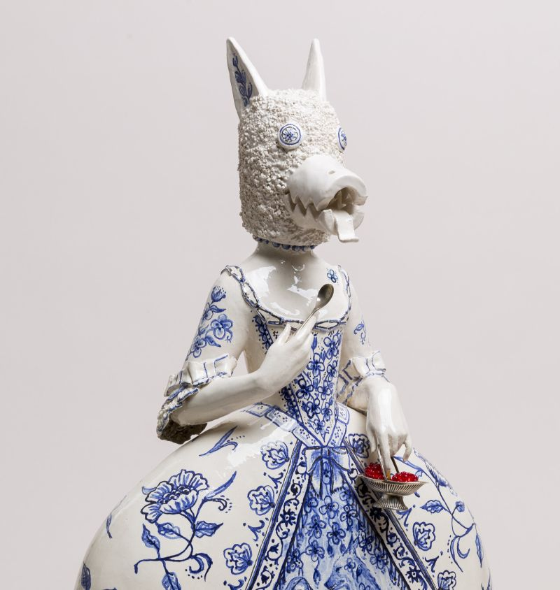 Animal, Historic and Mythical Figures' Traits Merged in Ceramic Art ceramic art Animal, Historic and Mythical Figures' Traits Merged in Ceramic Art Animal Historic and Mythical Figures Traits Merged in Ceramic 2